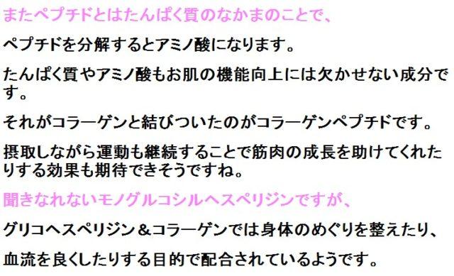 日本初!機能性表示のコラーゲンドリンク「ヘスペリジン&コラーゲン」原材料・成分&解析