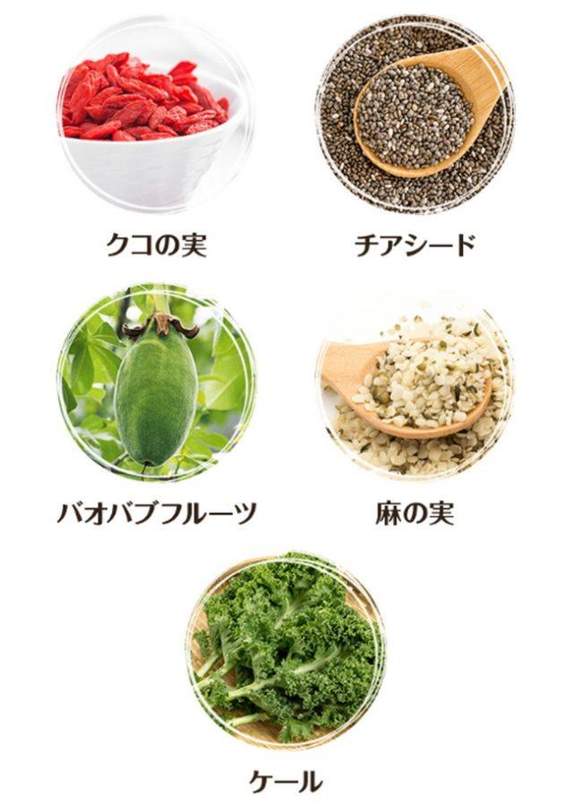 9種類のスーパーフード、160種類以上の酵素菌に加えて満腹サポート成分「グルコマンナン」も含まれており満腹感もある優れもの【クレンズキャンプ】