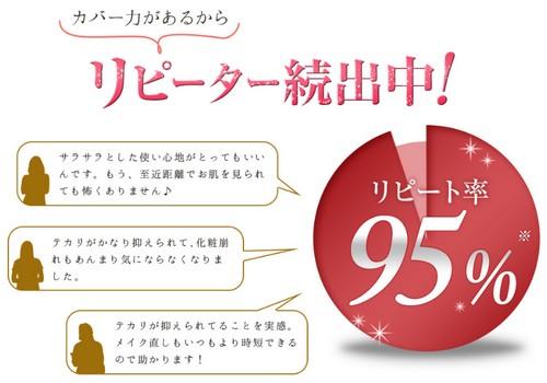 【シルキーカバーオイルブロック】販売実績300万個突破!新感覚化粧下地